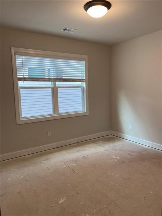 Bedroom 4. New Home in Alpharetta, GA
