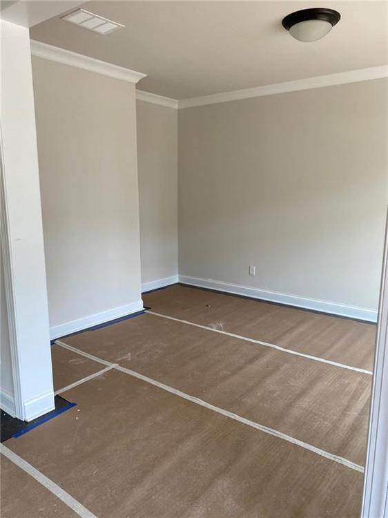 Formal Living/Office. Alpharetta, GA New Home