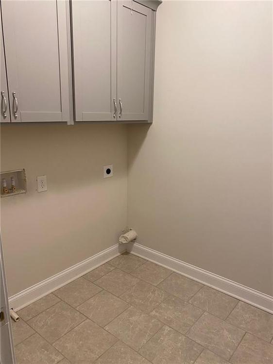 Laundry Room. New Home in Alpharetta, GA