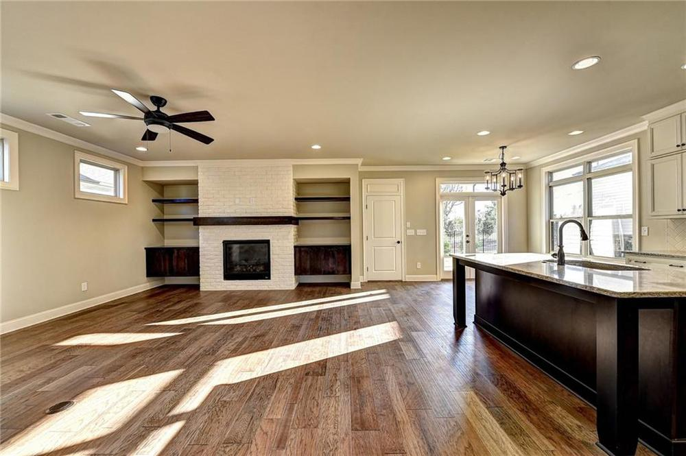 Photo of another lot with same elevation - meant for representation only. 4br New Home in Alpharetta, GA