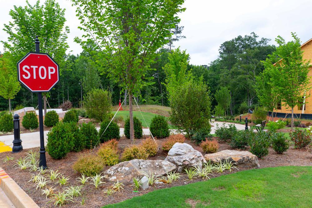 Atley Community Landscape. Alpharetta, GA New Homes