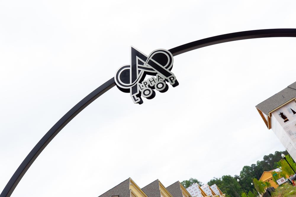Alpha Loop in the Atley Community. Alpharetta, GA New Homes