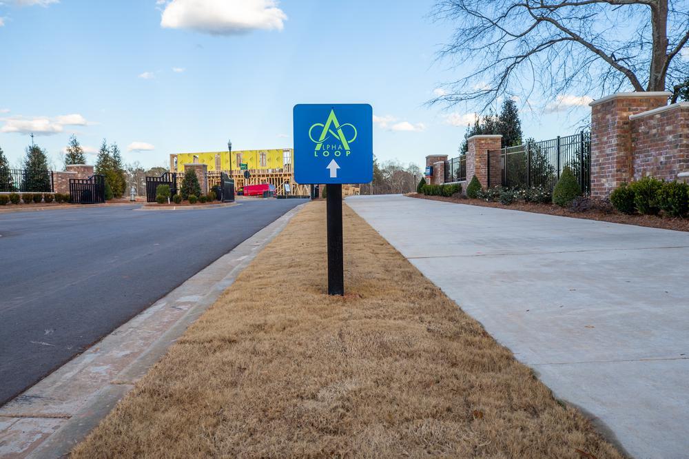 Alpha Loop. New Homes in Alpharetta, GA