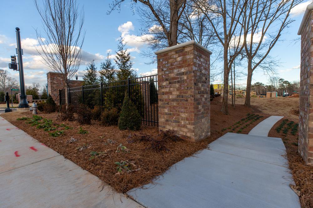 Atley Community Landscape. Atley New Homes in Alpharetta, GA