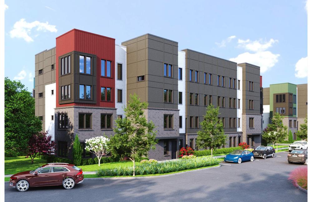 Pratt Stacks II - Building 1600. Pratt Stacks II New Homes in Atlanta, GA
