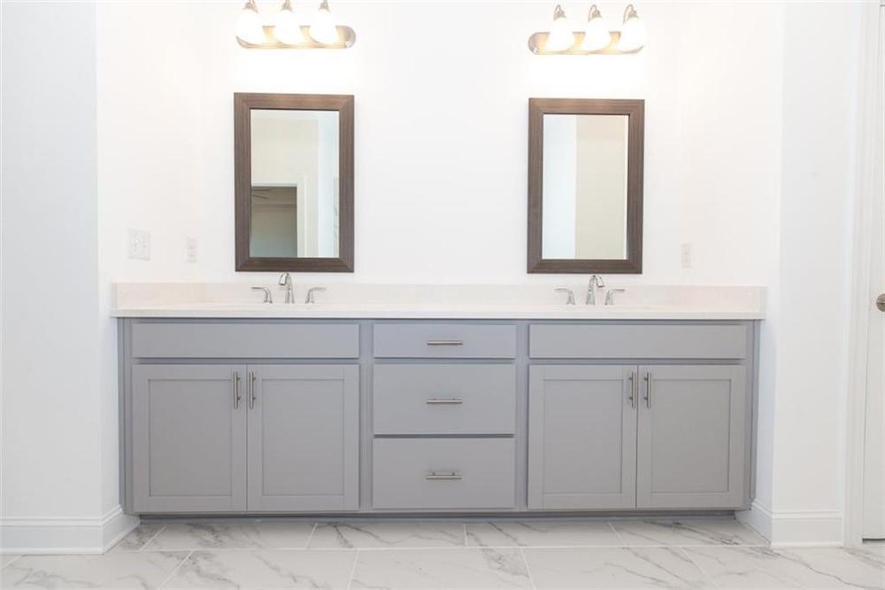 Master bathroom . New Home in Duluth, GA