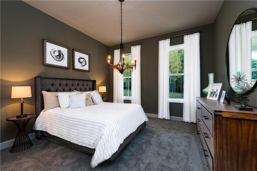 Photo of a model home with same floor plan - meant for representation only . New Home in Alpharetta, GA