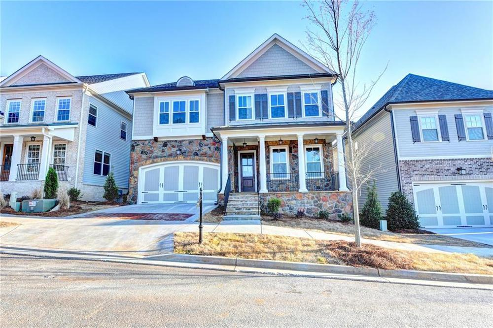 Not actual home. Photo of previously built Montgomery floorplan. . 5br New Home in Alpharetta, GA