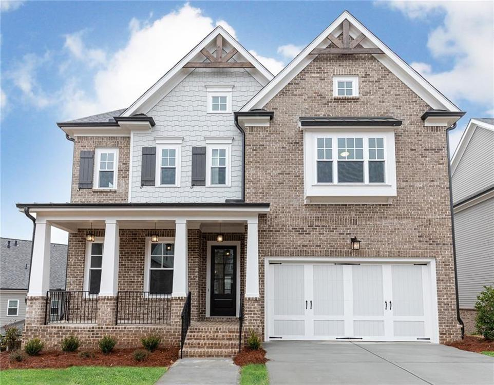 Not actual home. Photo is a previously built Montgomery floorplan. Alpharetta, GA New Home