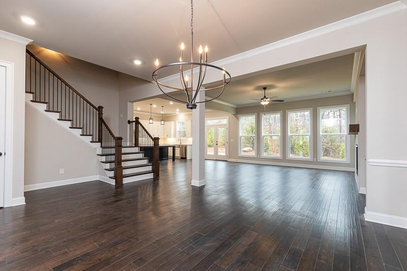 Not actual home. Photo is a previously built Montgomery floorplan. New Home in Alpharetta, GA