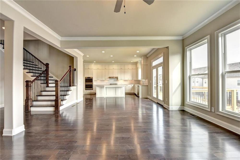 Not actual home. Photo of previously built Montgomery floorplan. . New Home in Alpharetta, GA