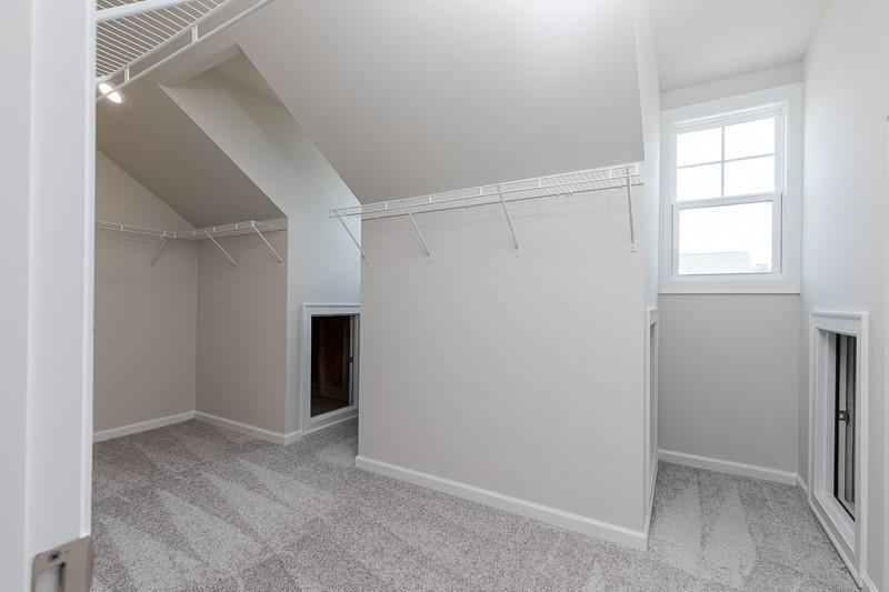 Not actual home. Photo of previously built Calhoun floorplan. New Home in Alpharetta, GA