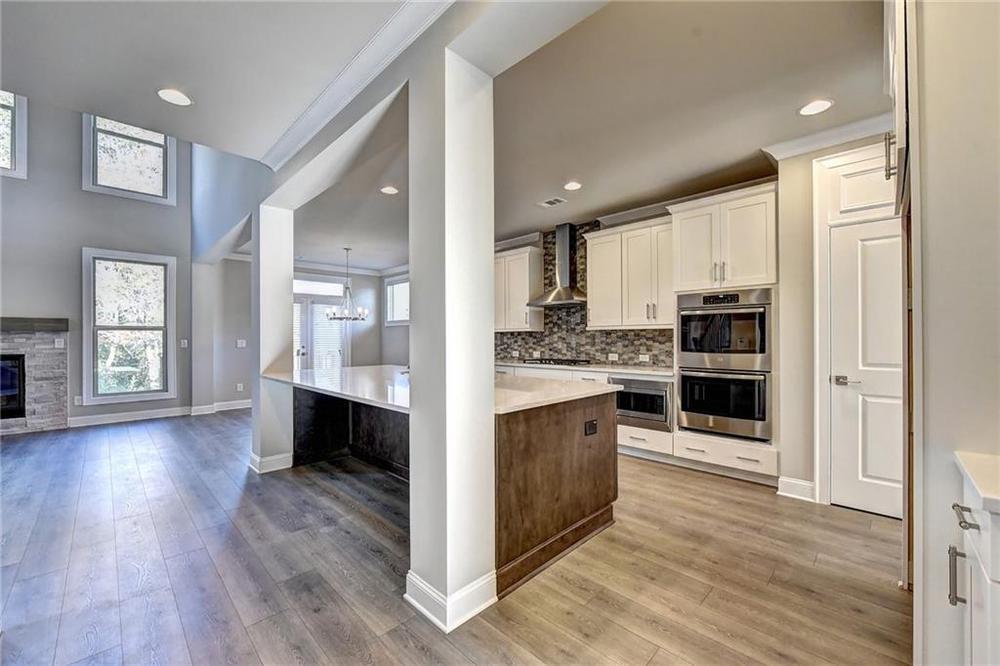 Not actual home. Photo of previously built Calhoun floorplan. 1060 Pennington View Lane, Alpharetta, GA