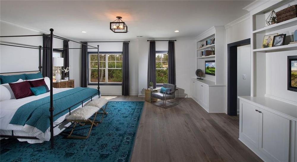 Not actual home. Photo of previously built Calhoun plan. 2,852sf New Home in Alpharetta, GA