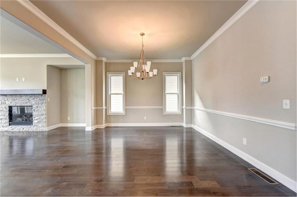 Not actual home. Photo of previously built Montgomery floorplan. . 1165 Pennington View Lane, Alpharetta, GA