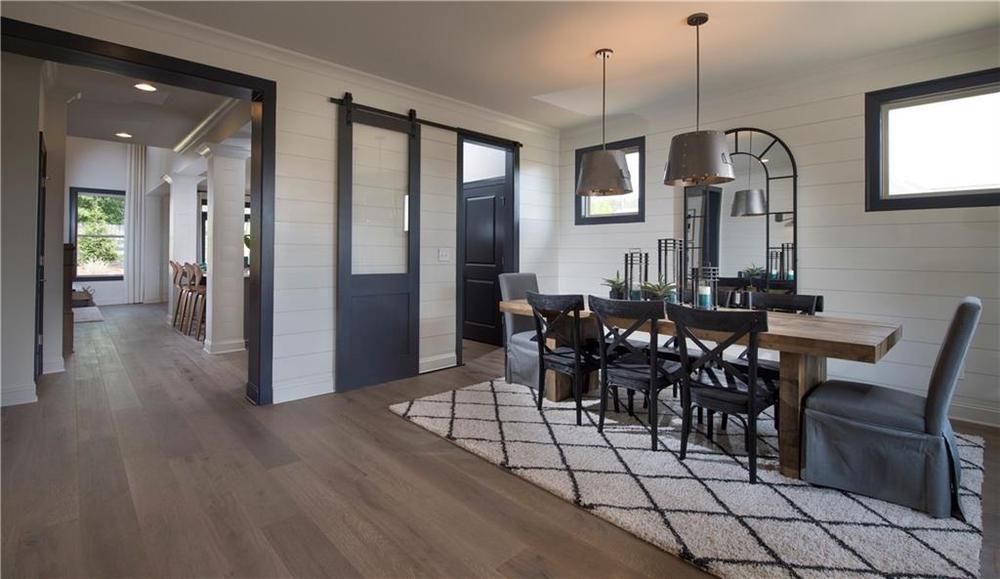 Model home of same floorplan. 2,852sf New Home in Alpharetta, GA