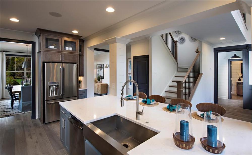 Model home of same floorplan. 4br New Home in Alpharetta, GA