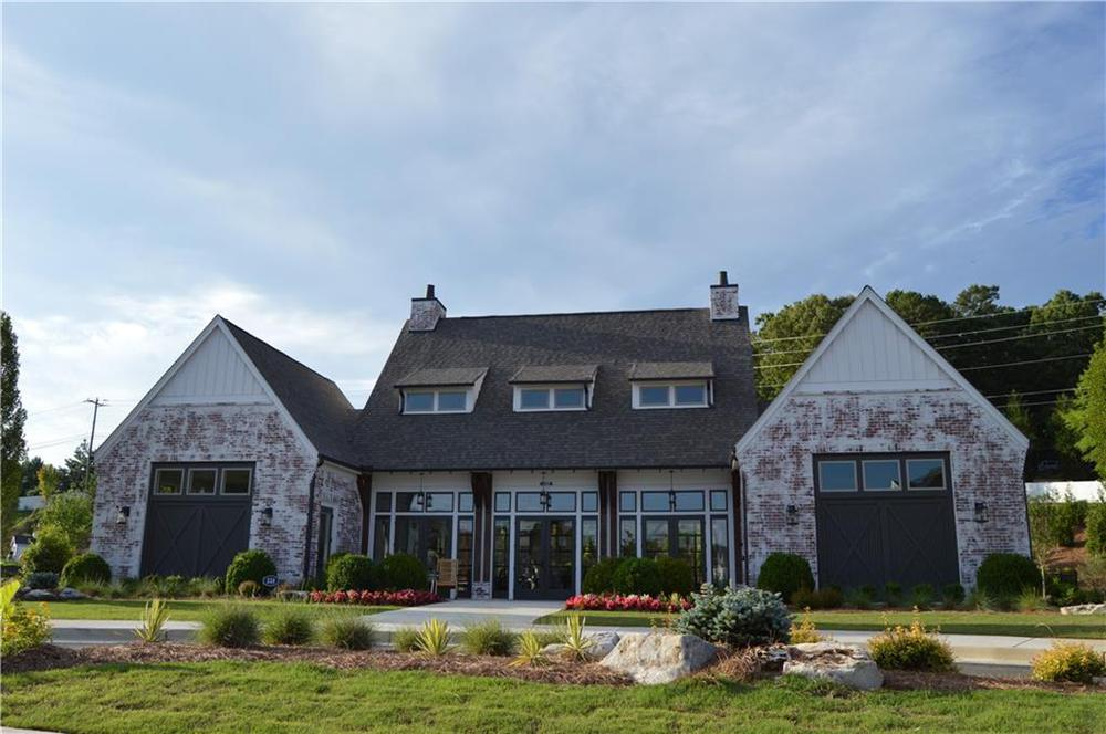 beautifully decorated club house. Canton, GA New Home