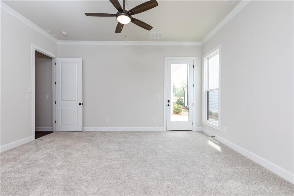 Not actual home. Photo of previously built McDaniel. Canton, GA New Home
