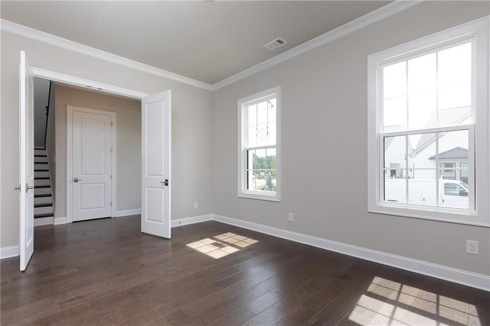 Not actual home. Photo of previously built Hickory floorplan. 1008 Cagle Creek Overlook Walk, Canton, GA