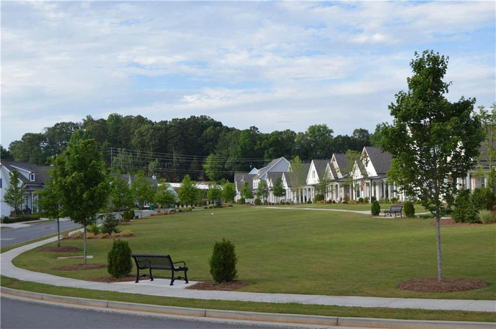 park like setting for walking for chatting with neighbors. Canton, GA New Home
