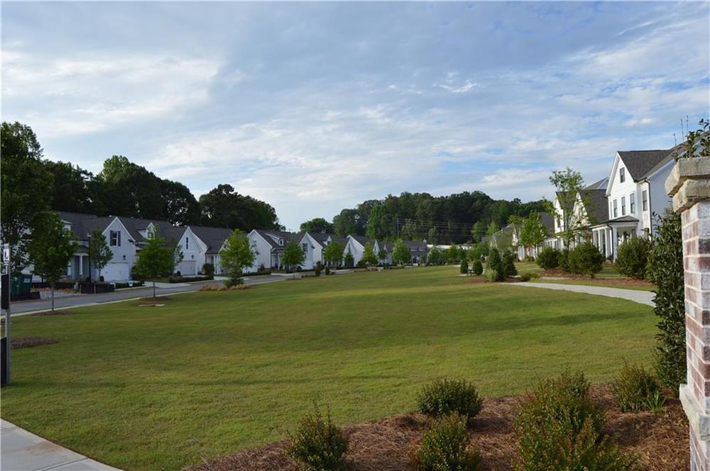 open fields for walking . New Home in Canton, GA