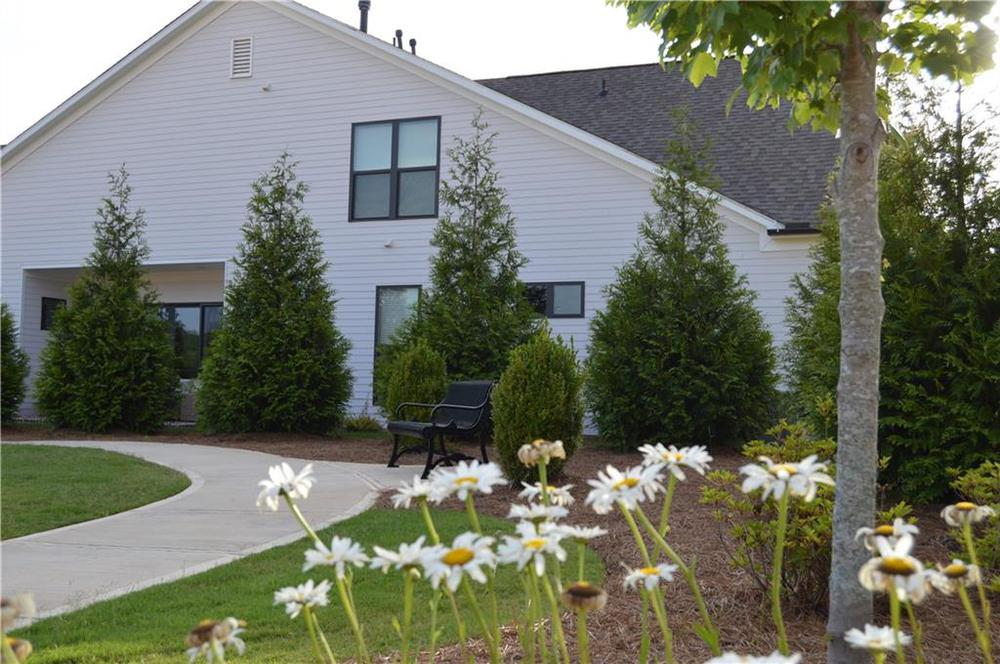 Green space and gardens throughout the community. Canton, GA New Home