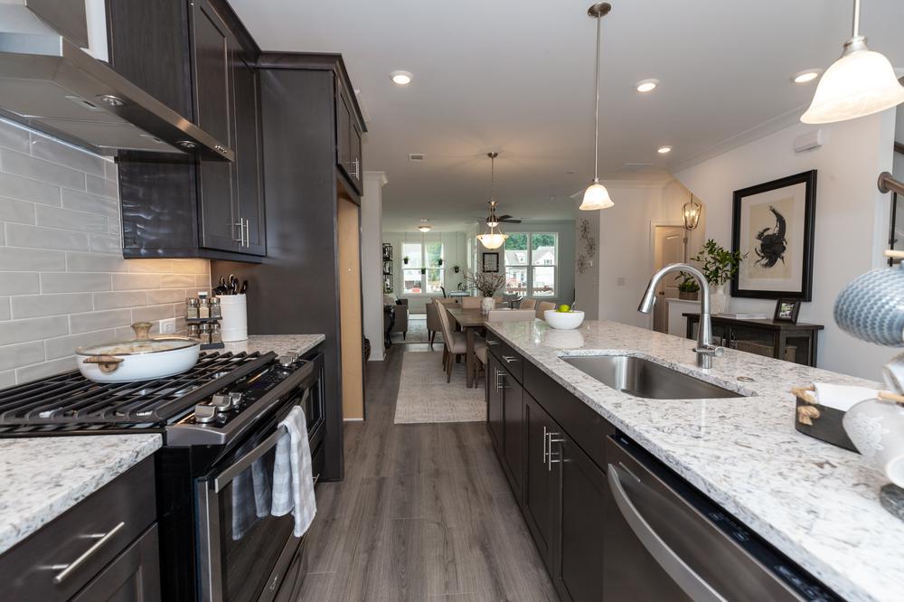 Garwood Model at Ellington. 1,893sf New Home in Suwanee, GA