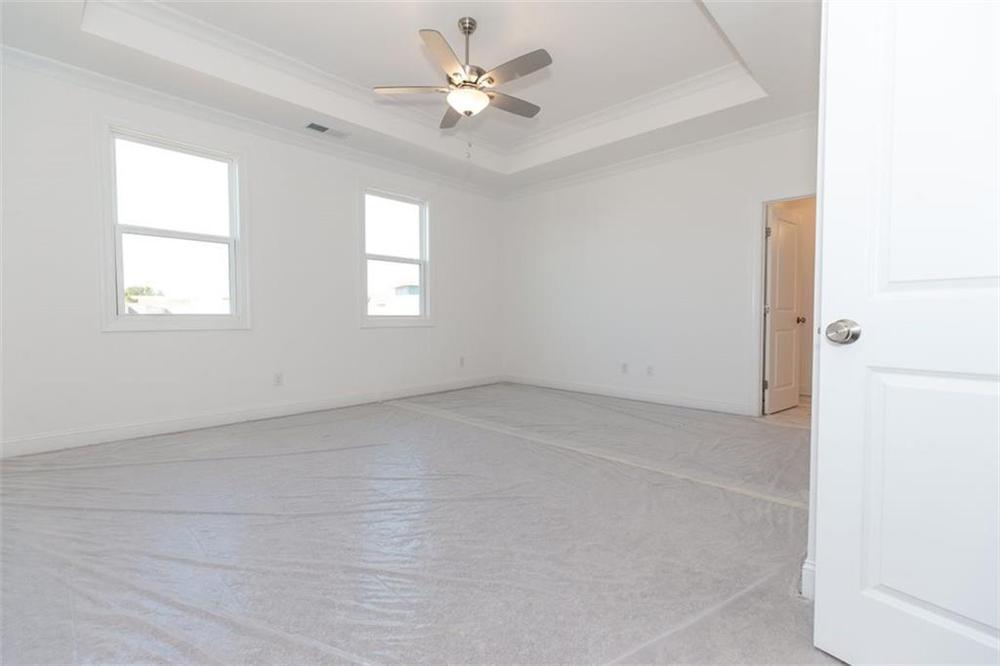 Master Bedroom . Duluth, GA New Home