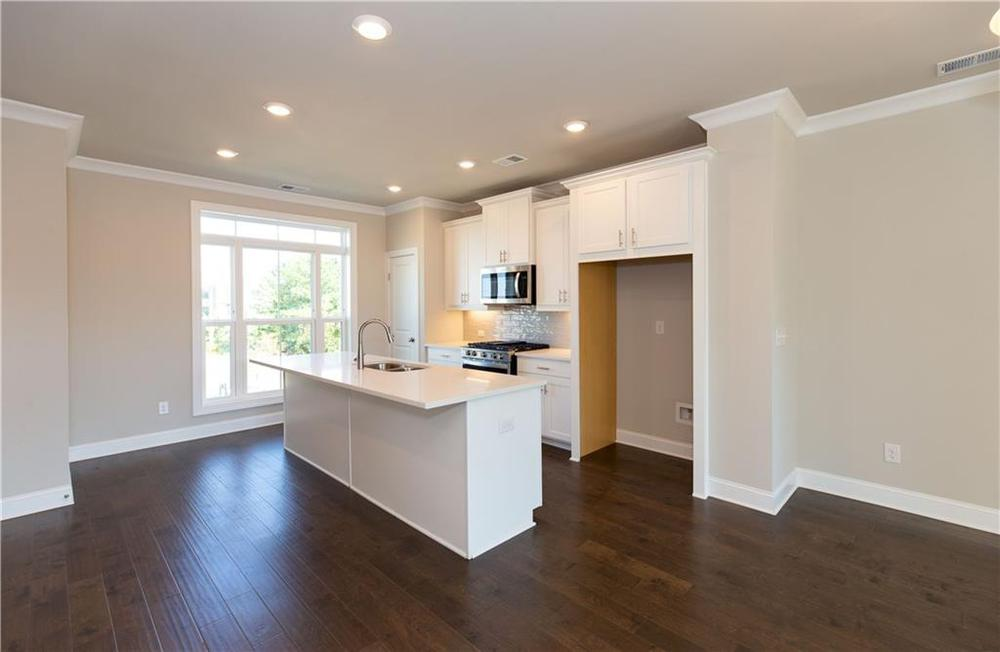 Not actual home. Previously built Glendale floorplan. 1,903sf New Home in Duluth, GA