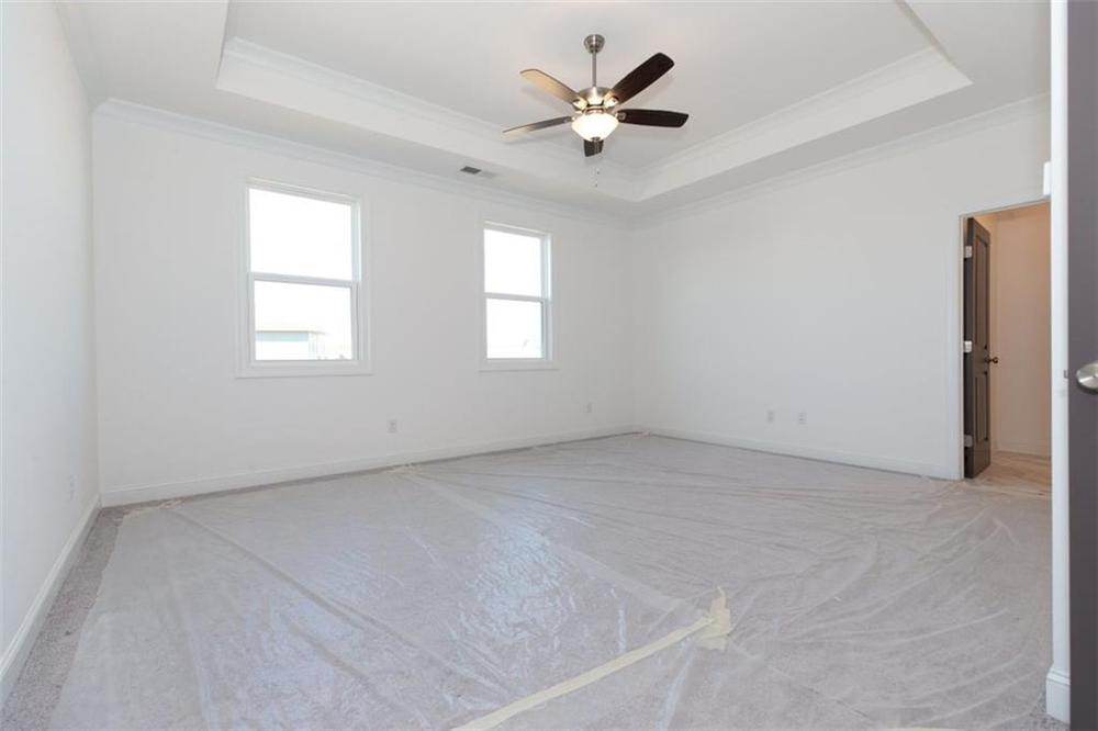 Master Bedroom . New Home in Duluth, GA