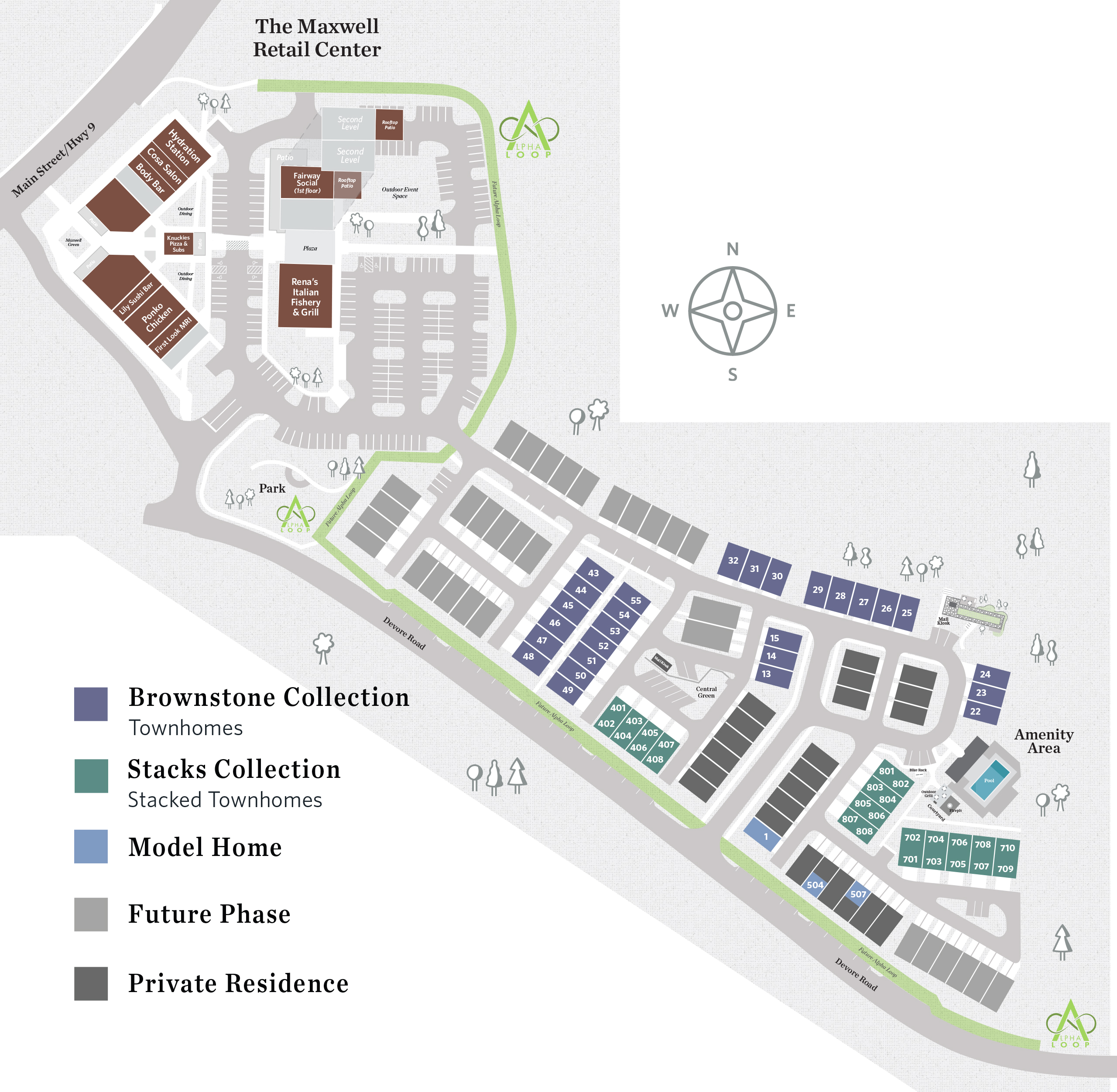 Alpharetta, GA The Maxwell New Homes from The Providence Group