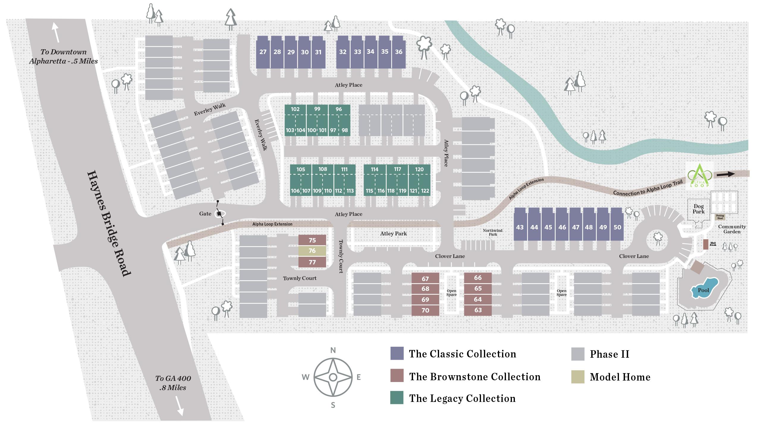 Alpharetta, GA Atley New Homes from The Providence Group