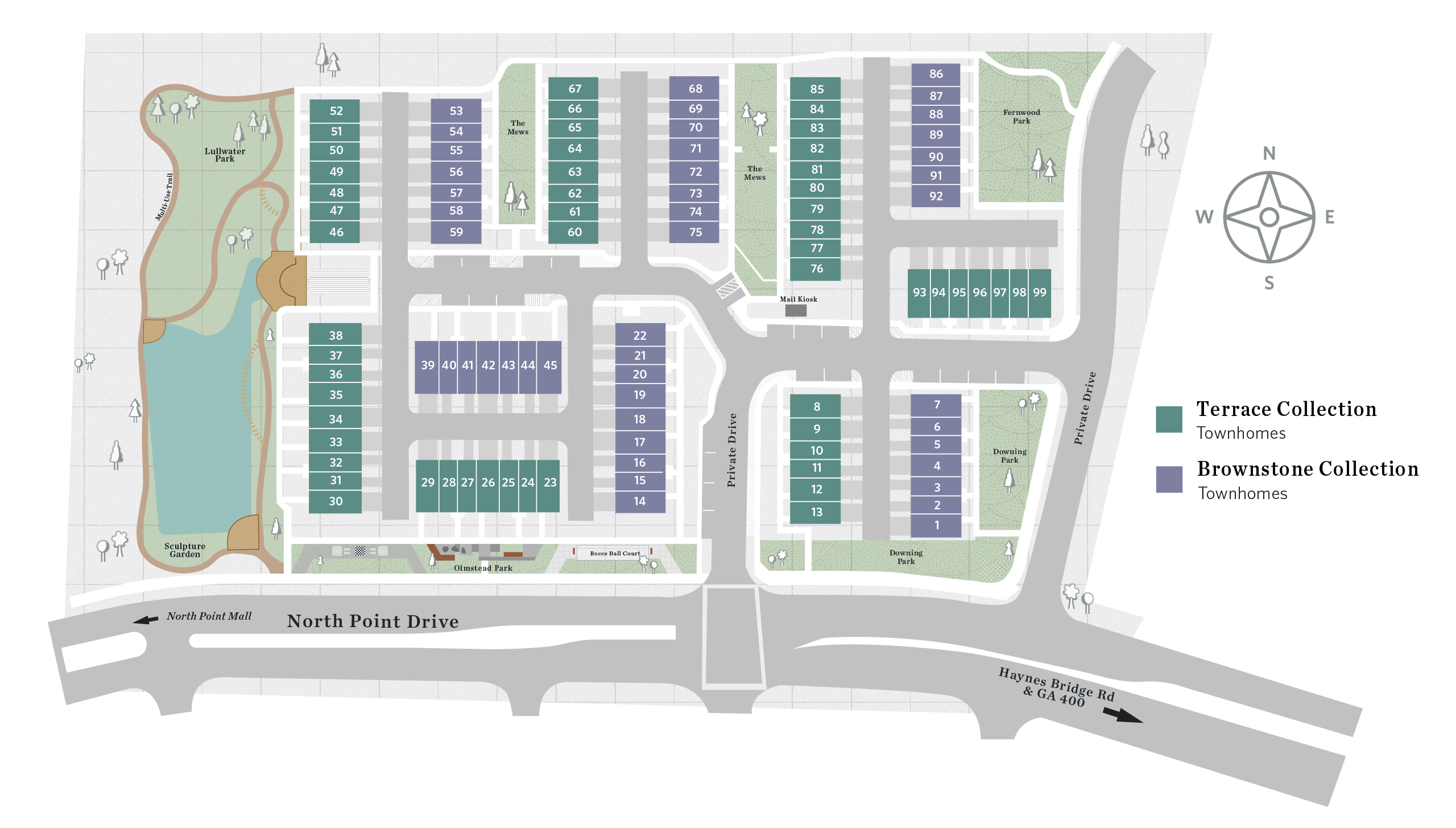 Alpharetta, GA Ecco Park New Homes from The Providence Group