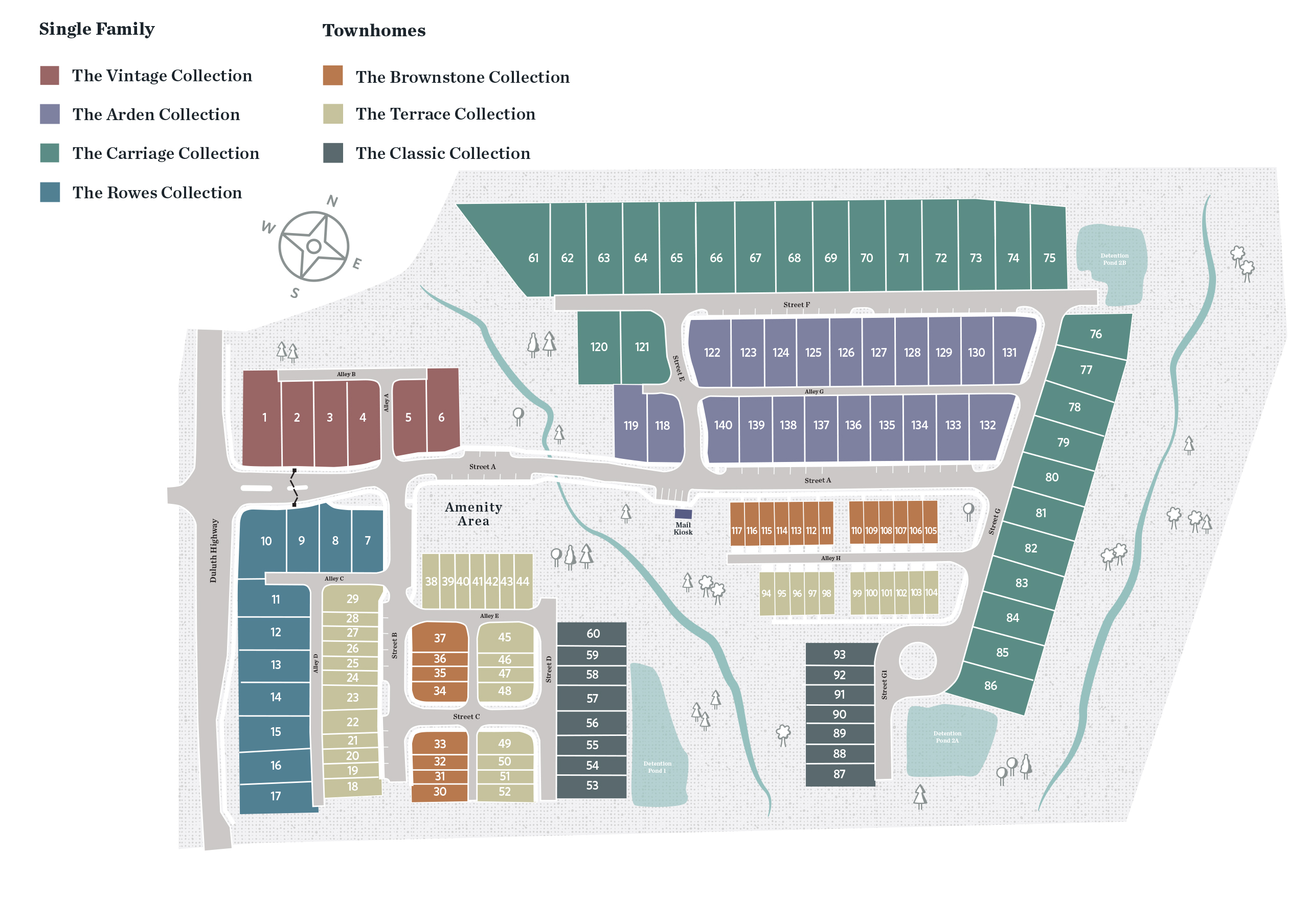 Duluth, GA Evanshire New Homes from The Providence Group