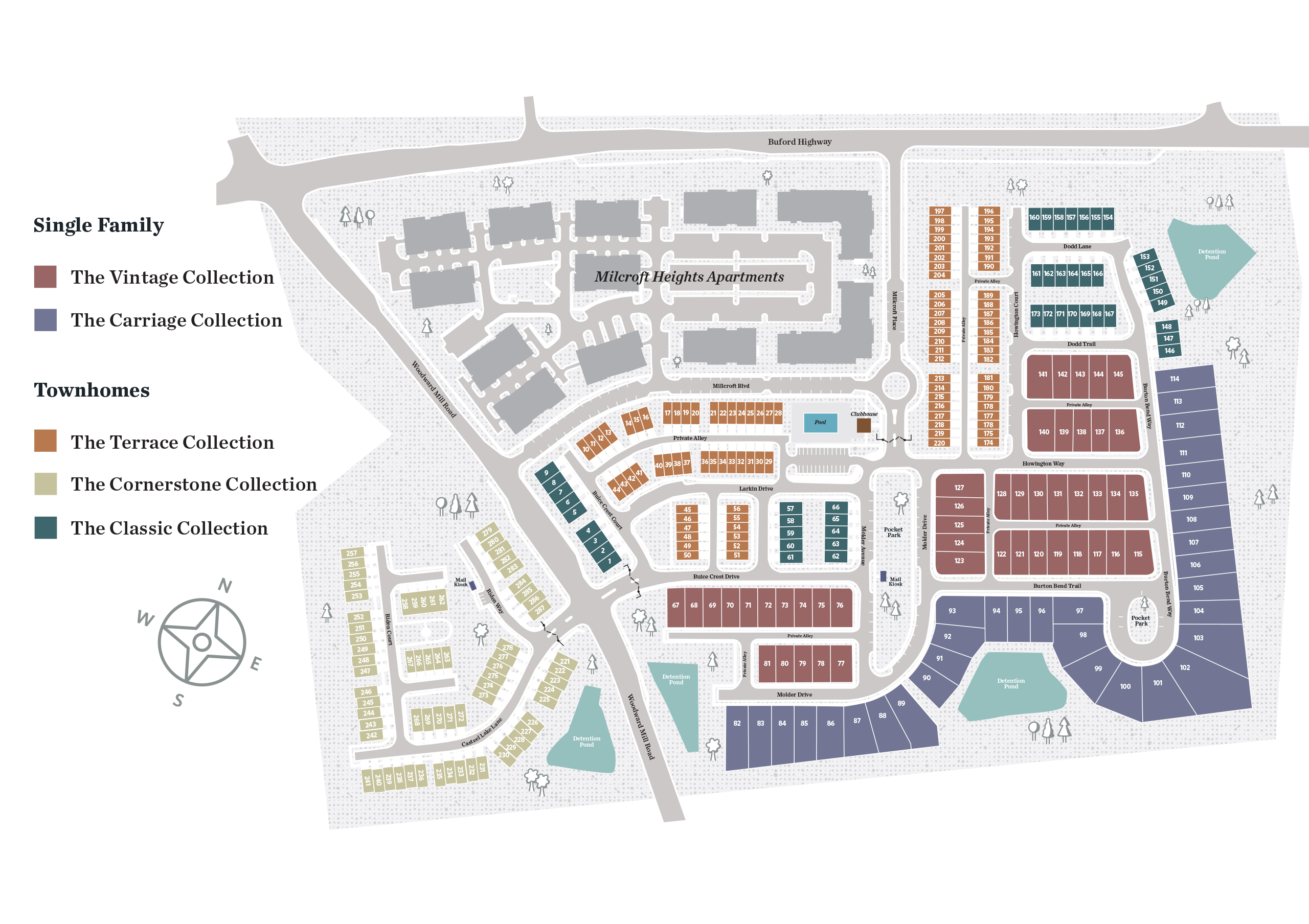 Sugar Hill, GA Millcroft New Homes from The Providence Group